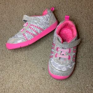 Toddler Sparkle Athletic Shoes, size 6